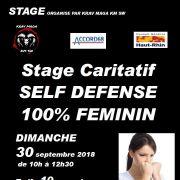 Stage self defense 100% feminin