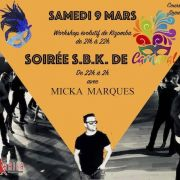 Workshop Kizomba + SBK de Carnaval