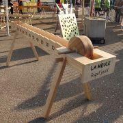 Jeux surdimensionnées en bois