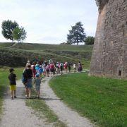 Visite pour enfants de la ville et des remparts de Neuf-Brisach
