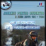 Journée Portes Ouvertes 44e Régiment de transmissions de Mutzig