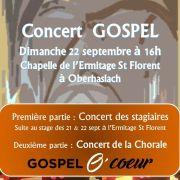 Concert Gospel à Oberhaslach