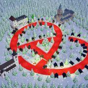 Noël Nu\'Meuh\'Rik dans la Vallée de Munster !