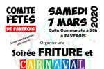 soiree friture  carnaval