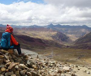 Trek au Pérou de Gilles Wucher