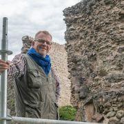 Visite de chantier archéologique du bâti au château du Hugstein