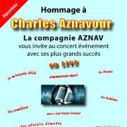 Hommage à Aznavour par la Compagnie AZNAV