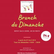 Brunch au restaurant \