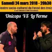 Match d\'impro : Unicops VS La Ferme
