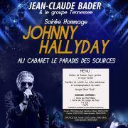 Soirée Hommage Johnny Hallyday avec Jean-Claude Bader