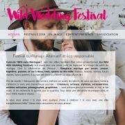 Wild Festival #3 - Guebwiller - Festival Mariage Alternatif