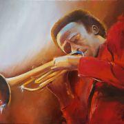 Musique & abstraction - Peintures à l\'huile et acrylique
