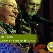 Les Mardis Folkloriques avec Armand Geber en concert