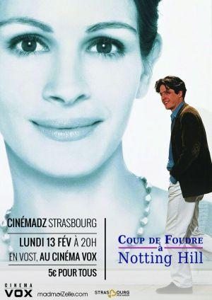 Cin madz n 15 coup de foudre notting hill strasbourg - Musique du film coup de foudre a notting hill ...