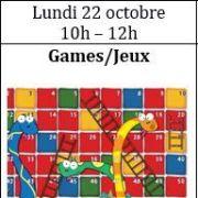 Atelier d\'anglais - enfants de 6 à 10 ans : Jeux !