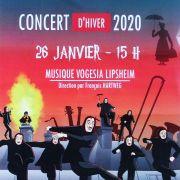 Grand Concert d'Hiver de la Vogesia de Lipsheim