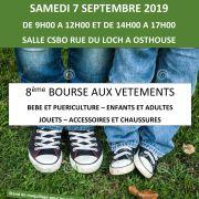 Bourse aux vêtements, jouets et articles de puériculture à Osthouse 2019
