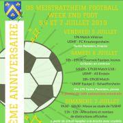 60ème anniversaire du club de Football de Meistratzheim