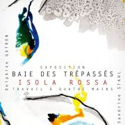 Baie des trépassés – Isola Rossa. Delphine Gutron /Sandrine Stahl