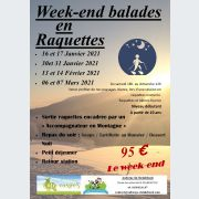Week-end balades en raquettes