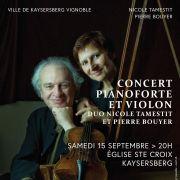Pianoforte et violon