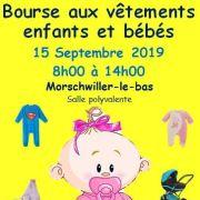 Bourse aux vêtements enfants et articles de puericulture à Morschwiller-le-Bas