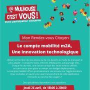 RDV Citoyen : Le compte mobilité m2A, une innovation technologique