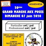 Marché aux puces Dessenheim 2020