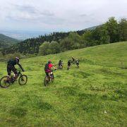 Sortie en VTT électrique : sur les chemins des bûchers de la vallée de la Thur