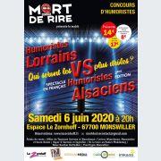 Concours d\'humoristes : Alsaciens VS Lorrains