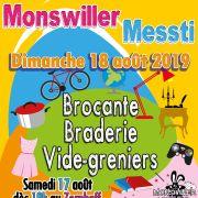 Braderie, brocante et vide-greniers à Monswiller
