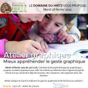 Atelier graphique pour enfant : Mieux appréhender le geste graphique