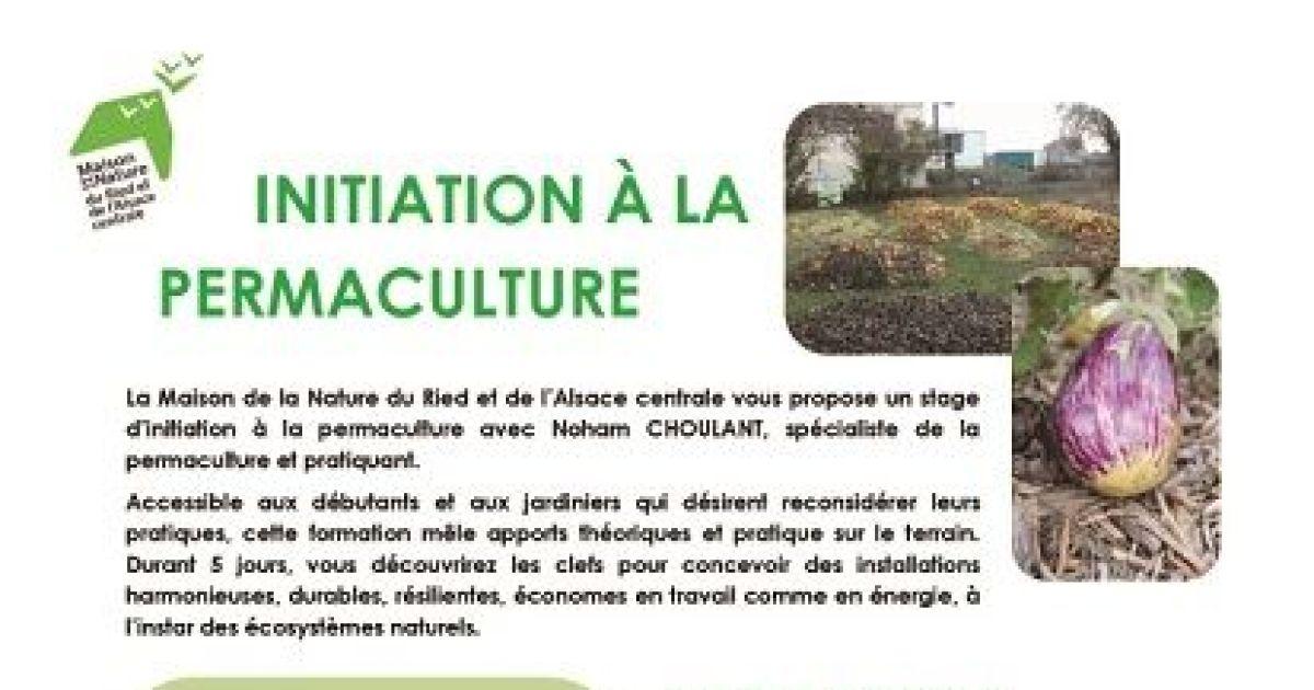 Initiation la permaculture muttersholtz formation - La permaculture c est quoi ...