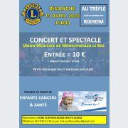 Union Musicale de Morschwiller-le-Bas par le Lions Club Mulhouse Haute-Alsace