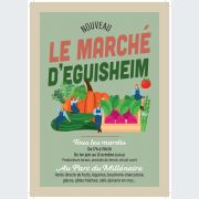 Marché hebdomadaire d\'Eguisheim