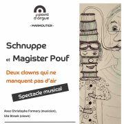 Schnuppe et Magister Pouf, deux clowns qui ne manquent pas d\'air !