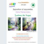 Exposition d\'aquarelles \