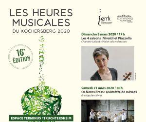 Les Heures Musicales du Kochersberg : Les 4 saisons, Vivaldi et Piazzolla