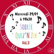 Soirée Quiz\'n Zik vol.3