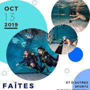 Faites de la plongée et des activités subaquatiques