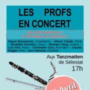 Concert des professeurs de l\'Ecole de Musique