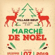 Noël 2019 à Village-Neuf : Marché de Noël