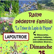 Rallye Pédestre Familial : Le Trésor du lapin de Pâques