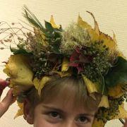 Atelier de couronne florale automnale en duo PARENTS + ENFANTS (à partir de 7 ans)