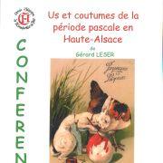 Us et coutumes de la période pascale en Haute- Alsace