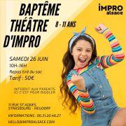 Baptême Théâtre d\'Impro Enfants