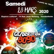 Soirée Génération 80\' 90\'