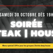 Soirée Steak | House au Restaurant de la Maison du Fromage