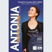 Spectacle : Antonia De Rendinger improvise ...