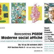 Rencontres POZOR d\'Art Moderne Affiché